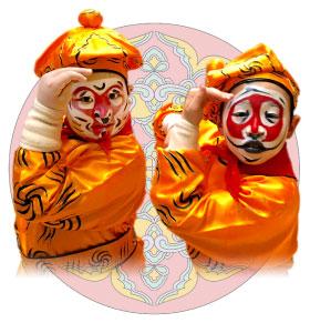 「3日間で京劇俳優になろう」イメージ